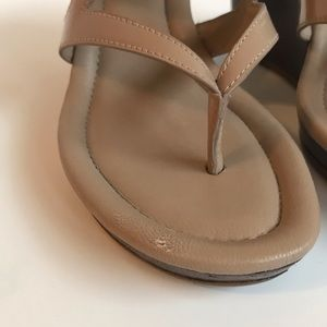 Cole Haan Shoes - Cole Haan Nike Air Strappy Wedge Sandals Size 6.5